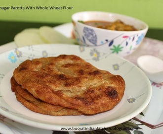 Virudhunagar Parotta with Whole wheat flour  (With Step -Wise pictures)