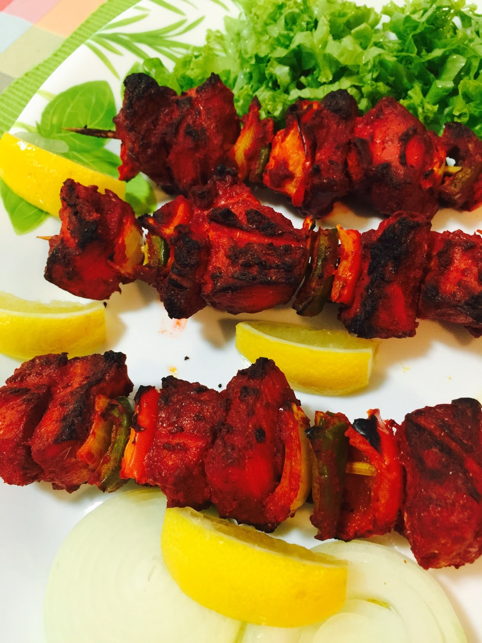 GRILLED FISH TIKKA