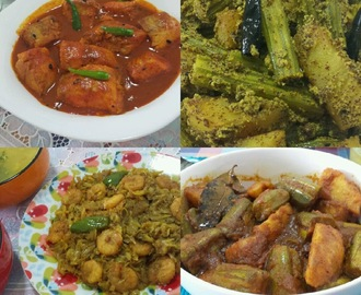 FOUR AUTHENTIC BENGALI RECIPES........ MY MOM LOVES