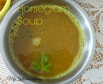 Kollu Rasam/Horsegram Soup/Diet Recipe