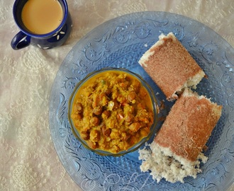Kerala Ragi Puttu & Kadala curry | Kerala Breakfast Recipe