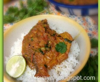 Pomfret Macher kalia ~ A Spicy Pomfret Fish Preperation