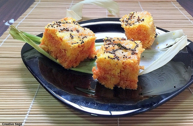 Corn dhokla recipe - easy snacks recipes