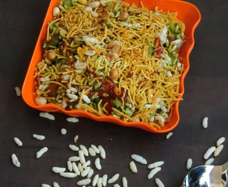 Jhal Muri/Spicy Puffed Rice/Jhaal Muri