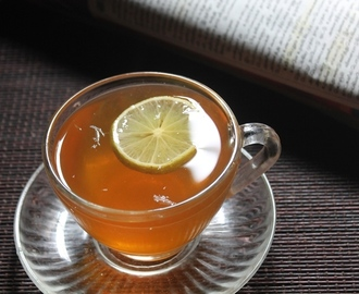 Lemon & Honey Black Tea Recipe - Lemon Tea Recipe - Weightloss Tea RecipeTake