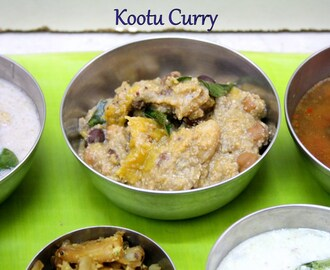 Kerala Kootu Curry | Roasted Coconut with Mixed Vegetables & Chickpeas