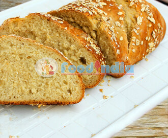 Rice Flour Bread Toast Recipe from Handy Ingredients