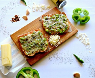 Garlic Chilli Cheese Toast