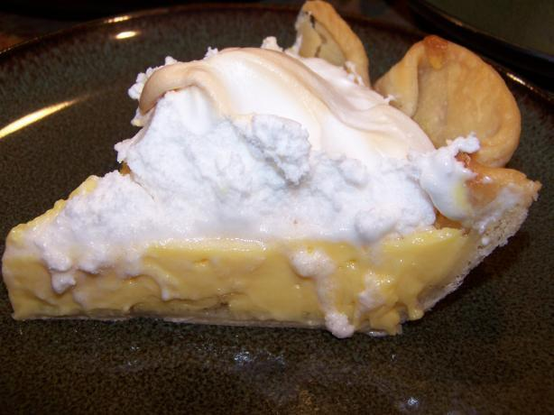 Simple Lemon Meringue Pie