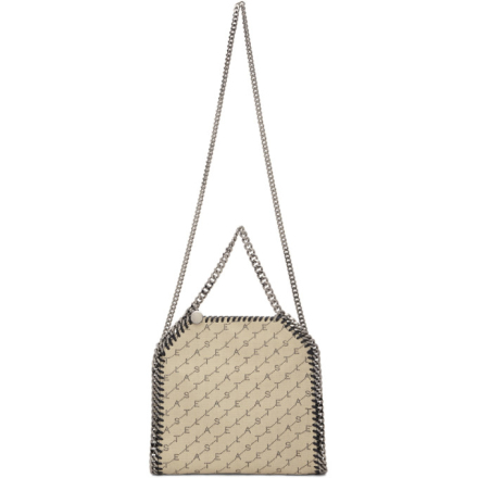 Stella McCartney Beige Mini Falabella Tote
