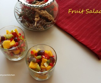 Fruit Salad/Fruit Mix/Fruit Chat