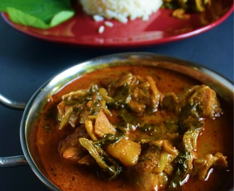 Gongura Mutton curry|Gongura Mamsam|Mutton curry recipe with Gongura leaves and potatoes