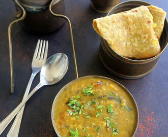 Panchmel Dal - Panchratna Dal - Healthy side dish for Roti / steamed rice / stuffed paratha