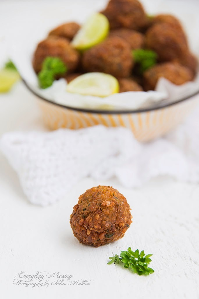 Falafel \ Middle Eastern Deep Fried Chickpea Balls