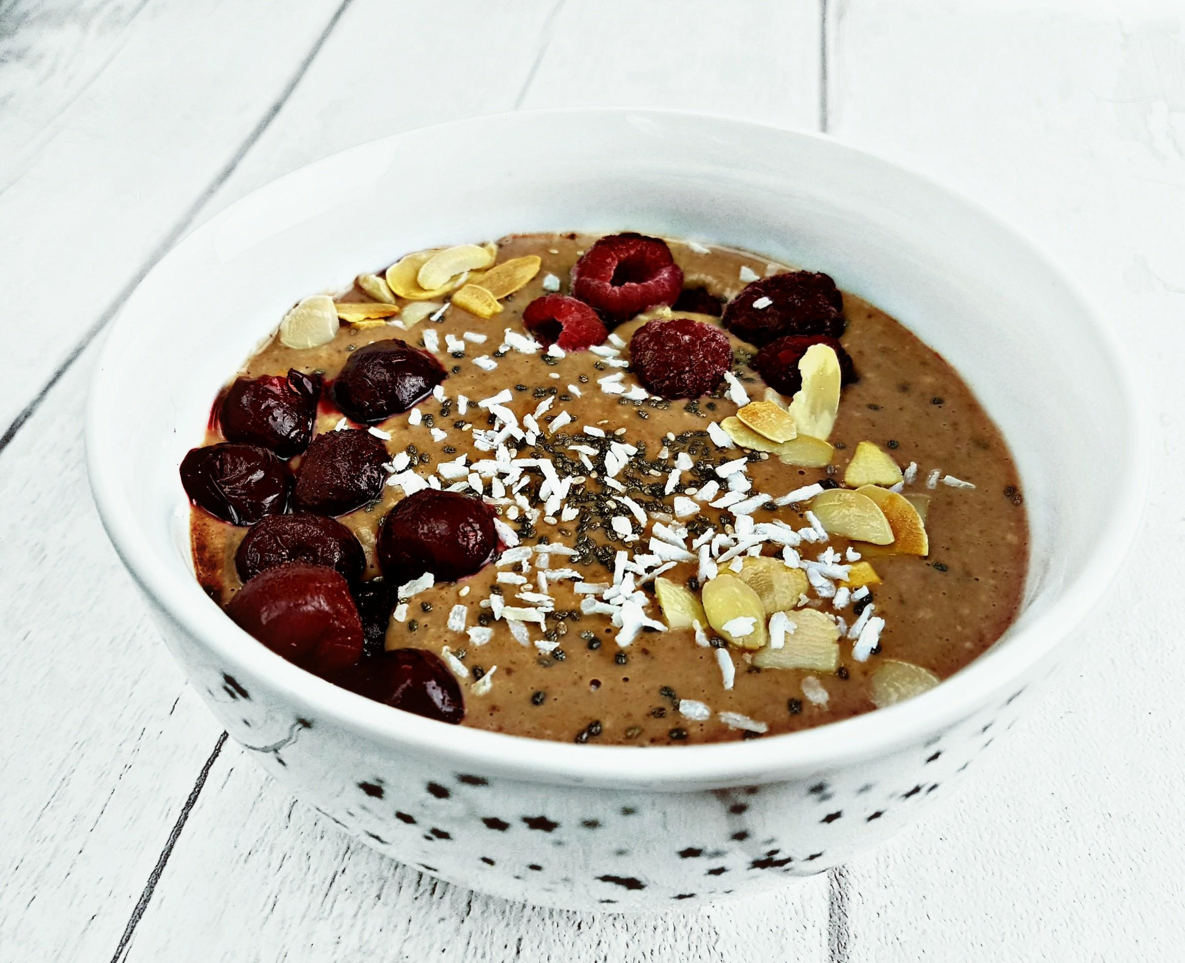 Chocolate Oat Pudding - Fit Food Brunette