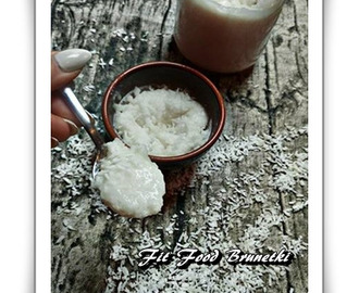 Healthy coconut spread - Fit Food Brunette