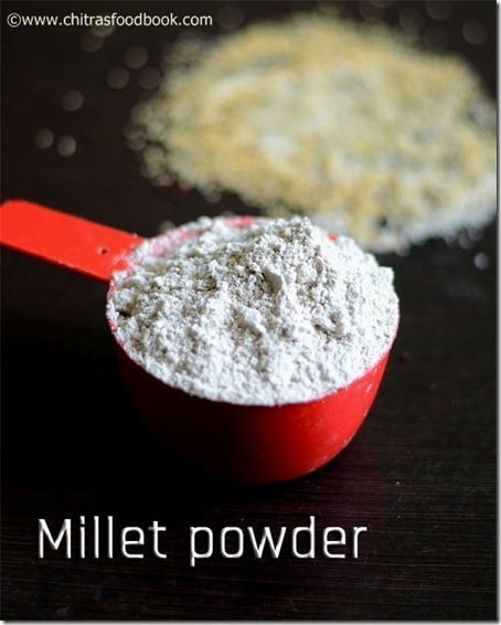 MILLET ENERGY MIX POWDER RECIPE/SATHU MAAVU RECIPE–MILLET RECIPES