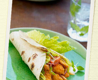 Crispy Chicken Soft Tortillas