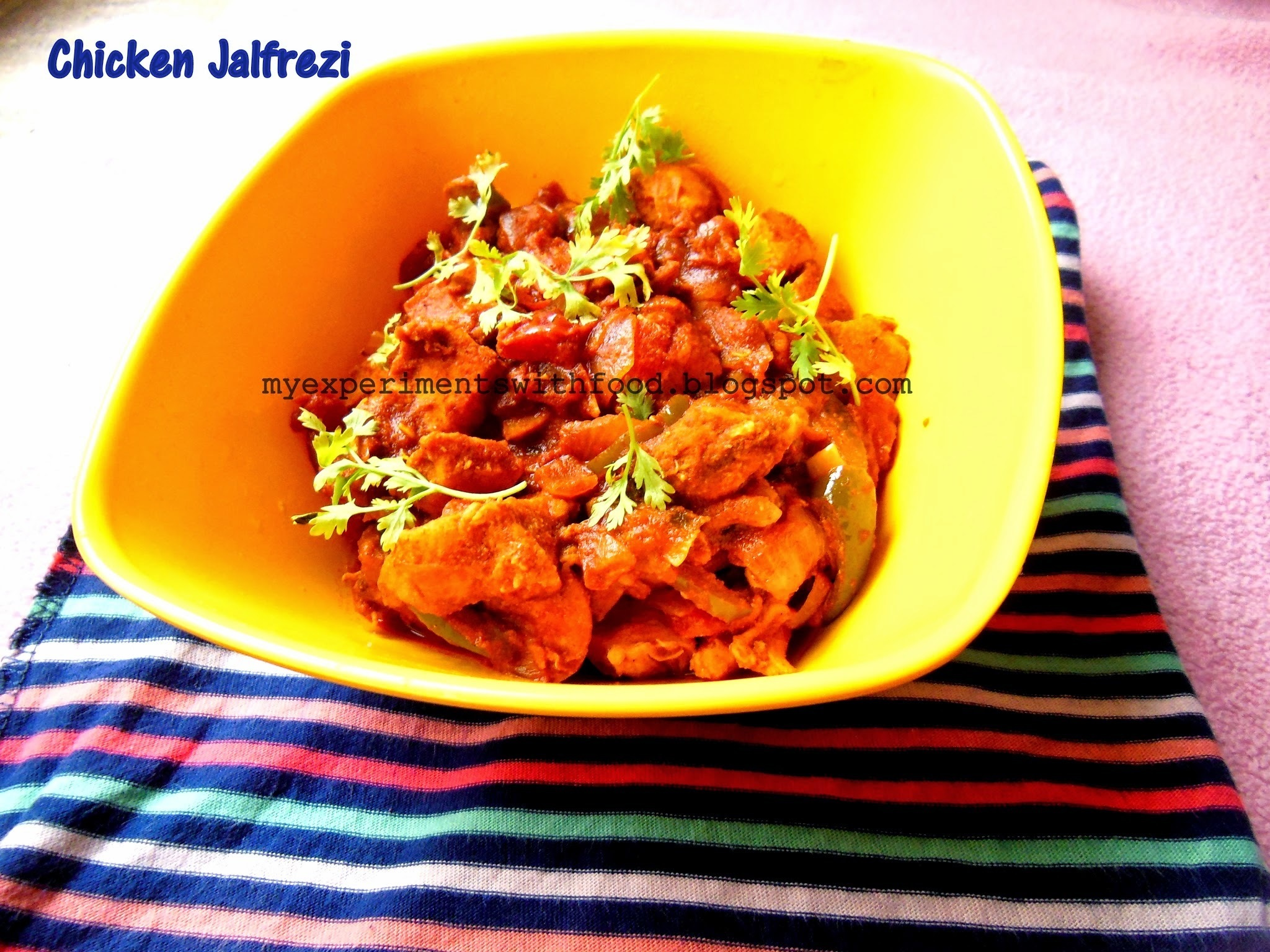 Chicken Jalfrezi