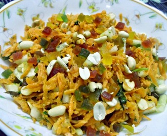Carrot Salad - A Guest Post by Aara