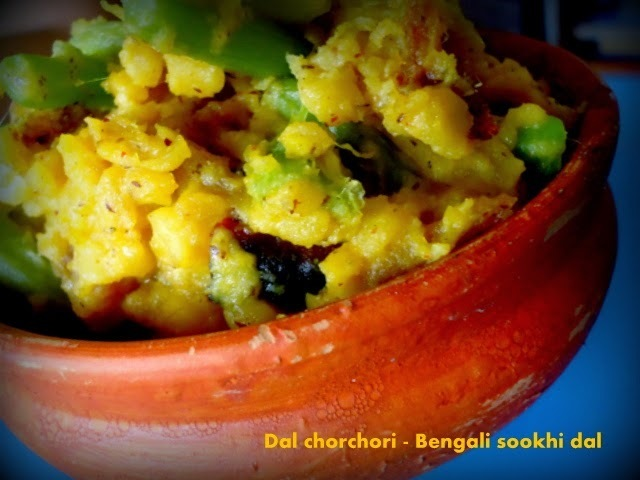 Bengali Traditional Sookhi Dal for Ranna Puja