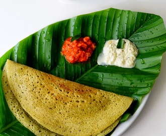 Karuvepillai Dosai | Curry Leaves Dosa Recipe
