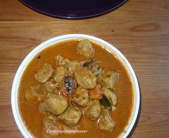 Soya Chunks Theeyal /Meal Maker Masala Curry