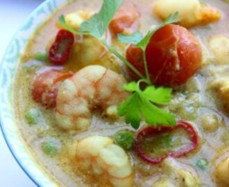Clean Eating Easy Prawn Curry #NationalCurryWeek