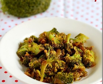 BROCCOLI STIR FRY RECIPE- BROCCOLI RECIPES