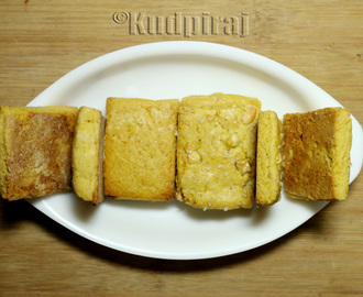 Milk and Cashewnut Biscuits - Variar Bakery Style
