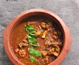 Kallu shappu kozhi curry / Chicken curry Kerala Toddy shop style