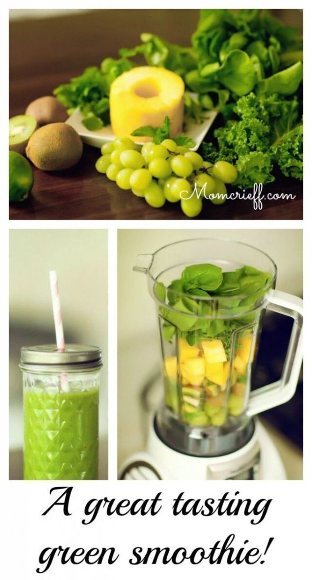 Get green…with a smoothie!
