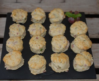 Fredagstapasen; Mini party scones