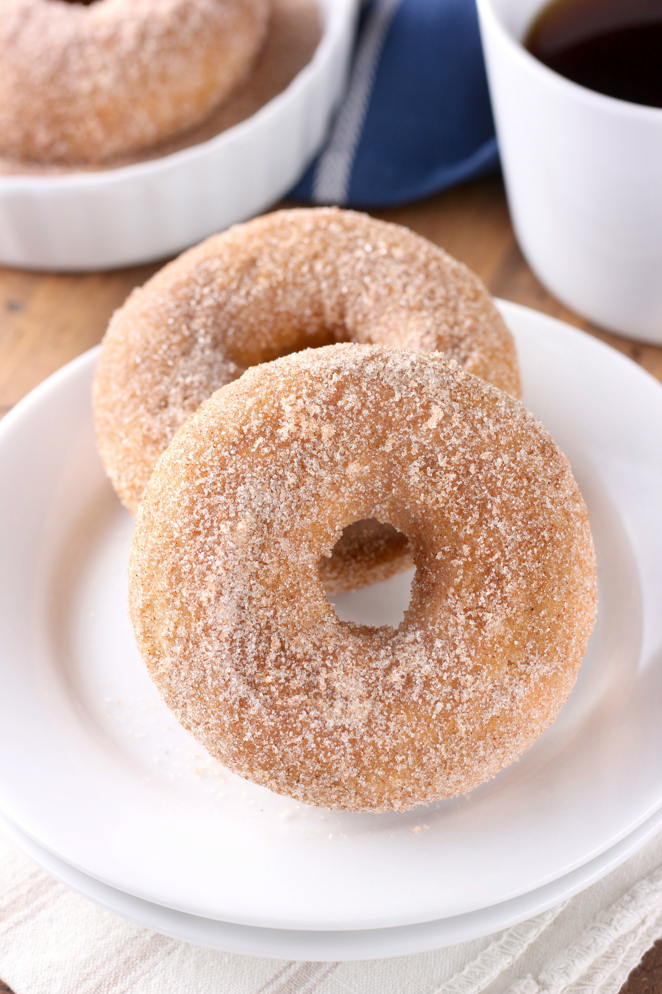 Baked Pumpkin Cardamom Donuts {Whole Wheat}