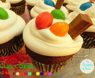 CUP CAKES KIT-KAT Y LACASITOS