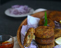 Stuffed Shami Kebab