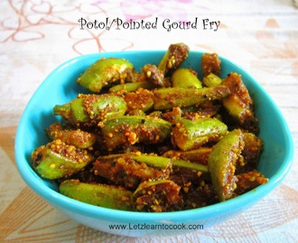 Pointed Gourd/Parwal/Potol/Green Potato Fry