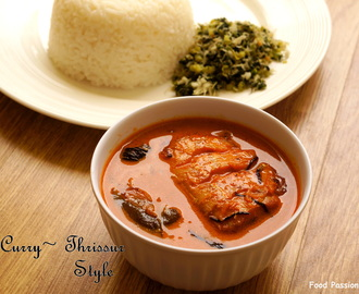 FISH CURRY ~ THRISSUR STYLE