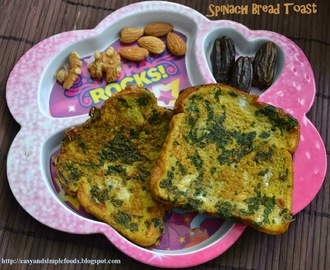 Spinach Bread Toast