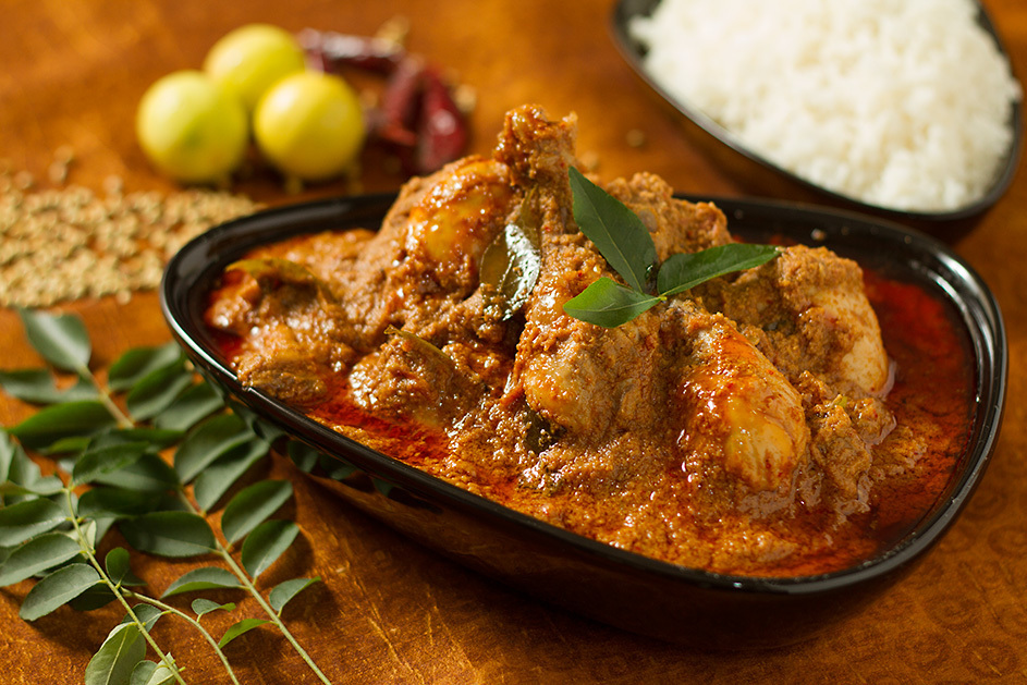 Chicken Chettinad – a chicken dish from Tamil Nadu