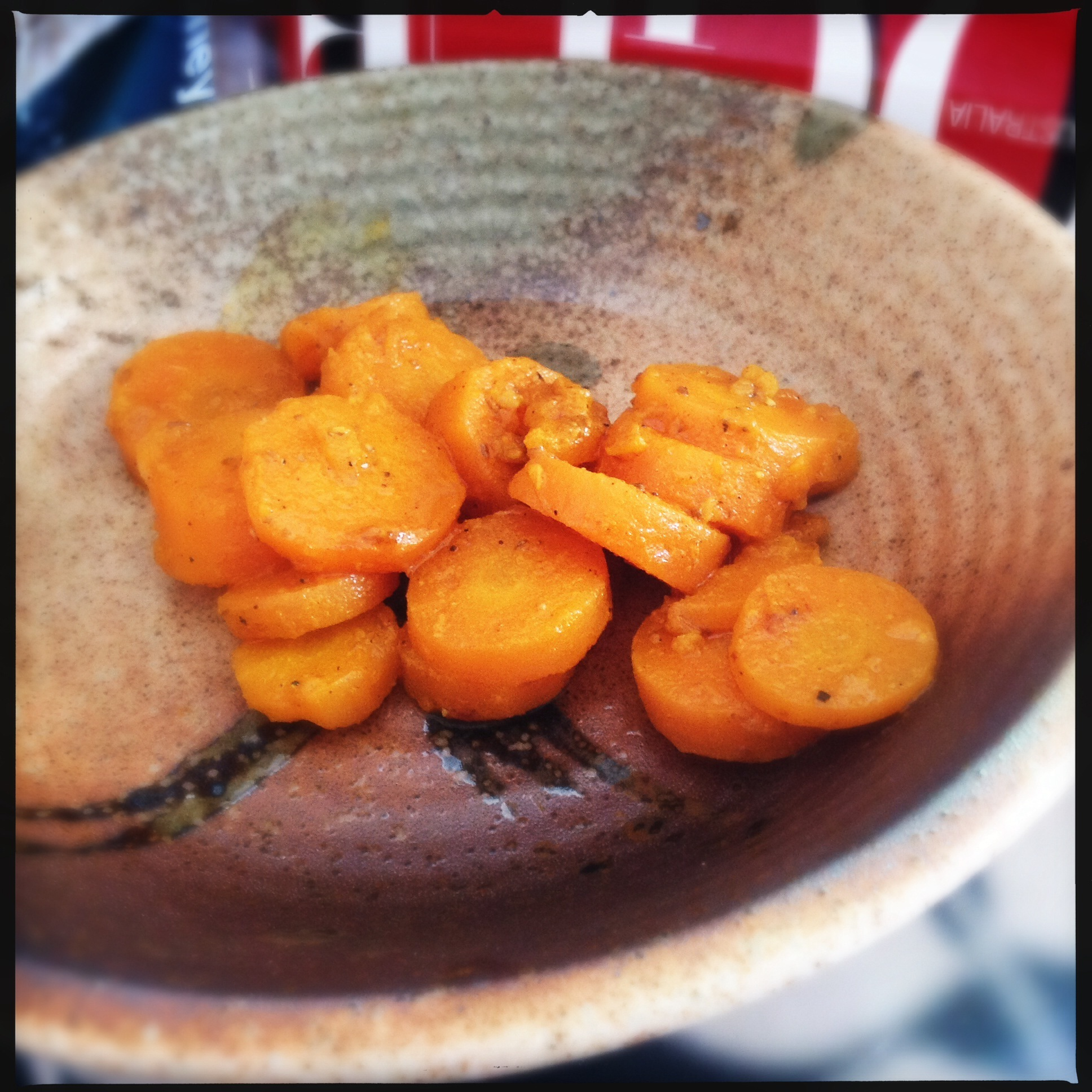 Spicy Carrot Side Dish