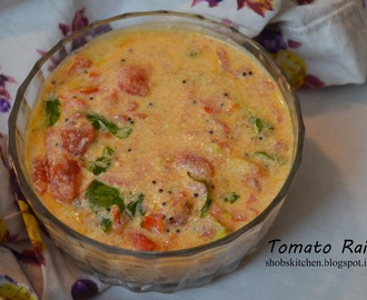 Tempered Tomato Raita