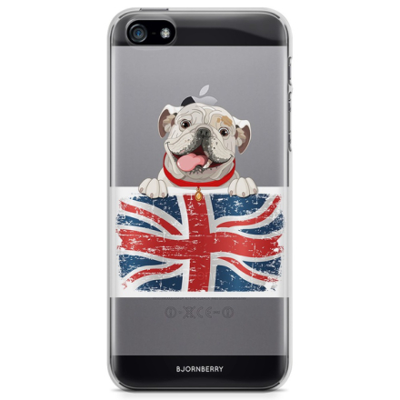 Bjornberry iphone 5/5s/se tpu skal - english bulldog