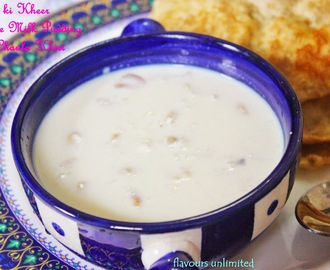 Chawal ki Kheer | Indian Rice Milk Pudding | Chaula Khiri
