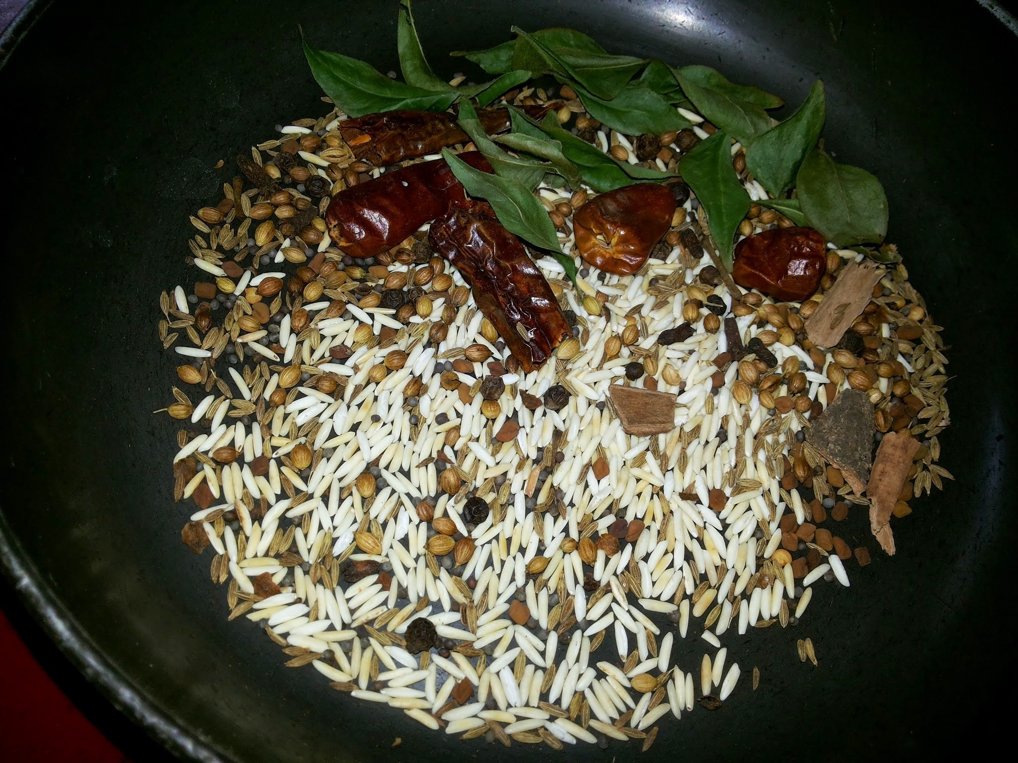 Sri Lankan Roasted Curry Powder Recipe