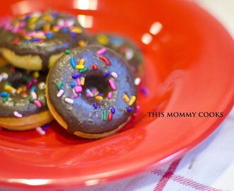Plain Doughnuts with Chocolate Icing {Sweet Treat Tuesday}