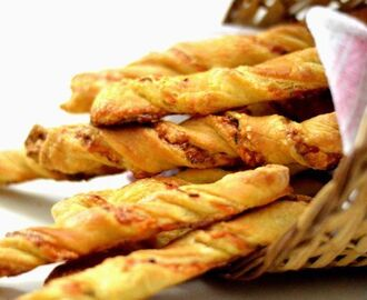 Puff Pastry – Cheese Twist