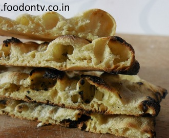 Yeast Free Naan Bread Recipe or Naan Recipe Without Yeast