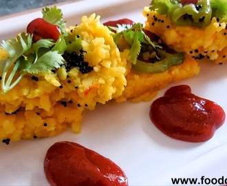Phoha Khaman Dhokla Recipe-Easy and Healthy Indian Gujarati Snack Recipe