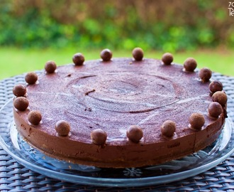 Tarte de Mousse de Chocolate